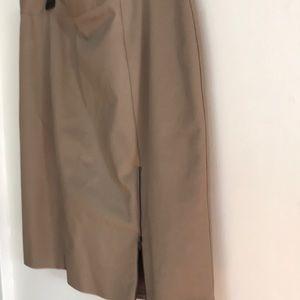 NWOT Khaki Skirt-16W